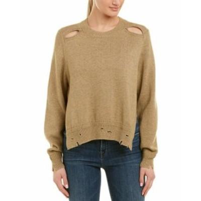 ファッション トップス Isabel Marant Cutout Wool-Blend Sweater