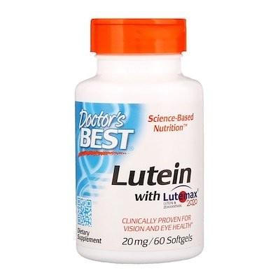 Lutemax 2020(ルテマックス2020)配合ルテイン、20 mg、ソフトジェル60粒