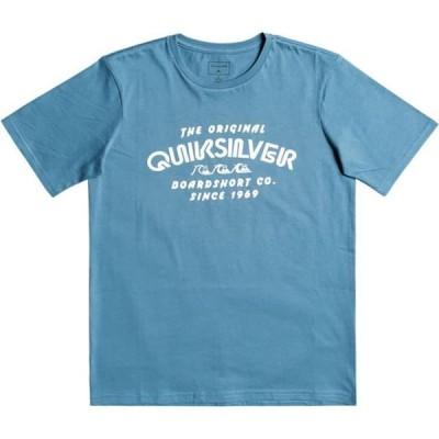 クイックシルバー ボーイズ/キッズ 服のボーイウェア Tシャツ quiksilver wilder-mile