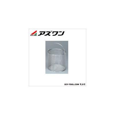 アズワン ステン丸型洗浄カゴ中 φ200×200mm 4-097-04 1個