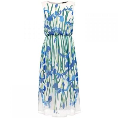 フェイズ エイト Phase Eight レディース ワンピース ワンピース・ドレス Petula Placement Georgette Dress Ivory/Multi