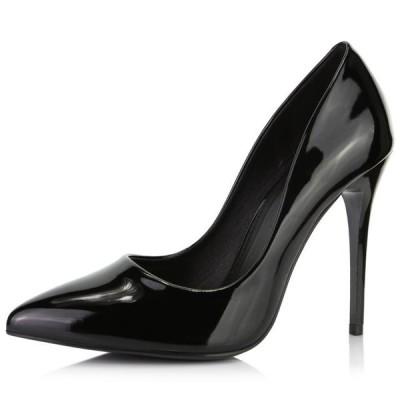 レディース 靴 ヒール パンプス DailyShoes Women's Paris-01 Stiletto Pump High Low Heels Closed Pointed Toe Shoes Sexy Thin Heel Slip On F