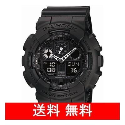 [カシオ] 腕時計 ジーショック GA-100-1A1JF ブラック
