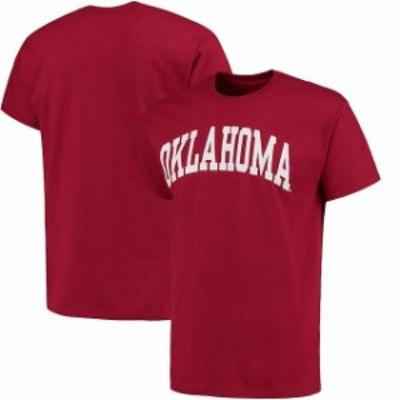 Fanatics Branded ファナティクス ブランド スポーツ用品  Oklahoma Sooners Crimson Basic Arch T-Shirt
