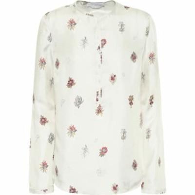 ガブリエラ ハースト Gabriela Hearst レディース ブラウス・シャツ トップス colson floral silk blouse Hand Drawn Flower