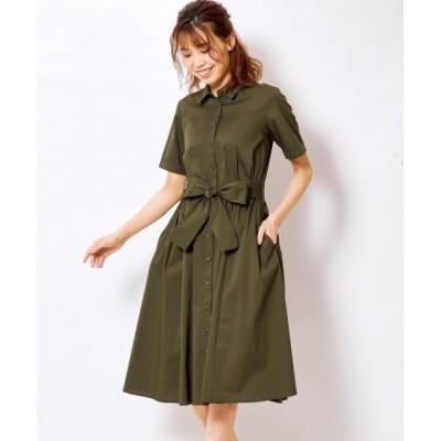 大きいサイズ シャツワンピース ,スマイルランド, ワンピース, plus size dress