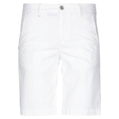 リハッシュ RE-HASH バミューダパンツ ホワイト 30 コットン 98% / ポリウレタン 2% バミューダパンツ