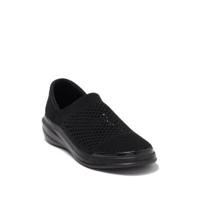 ビジーズ レディース スニーカー シューズ Charlie Knit Slip-On Sneaker BLACK