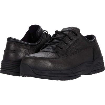 ワークス WORX レディース ローファー・オックスフォード シューズ・靴 Oxford Steel Toe Black