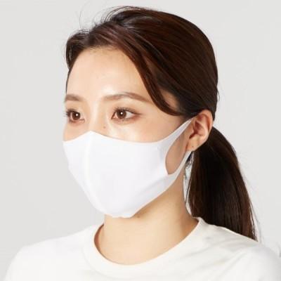 フェイスカバー 接触冷感 立体縫製 レディース 大人向け マスク Mサイズ 2枚組