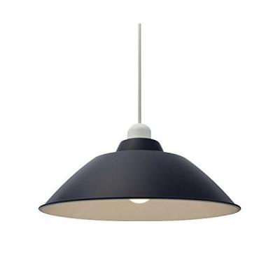 アイリスオーヤマ LEDペンダントライト LED電球セット Gammel Plas ホーロー調 Mサイズ ネイビー PL8L-E26PE1-L