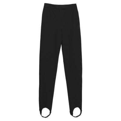 BURBERRY パンツ ブラック 6 コットン 73% / ナイロン 20% / ポリウレタン 7% パンツ
