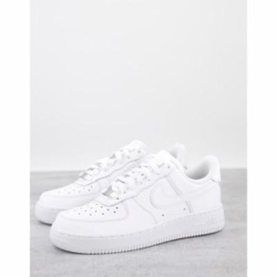 ナイキ Nike レディース スニーカー エアフォース シューズ・靴 Air Force 107 in white ホワイト