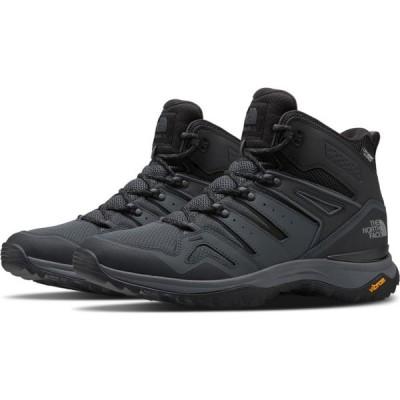 ザ ノースフェイス THE NORTH FACE メンズ ハイキング・登山 シューズ・靴 Hedgehog Fastpack II Mid WP Hiking Shoes TNF BLACK/ GREY ZU