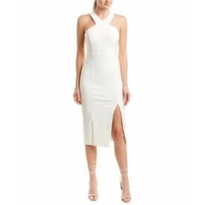 Sept  ファッション ドレス Cinq A Sept Melina Midi Dress 4 White