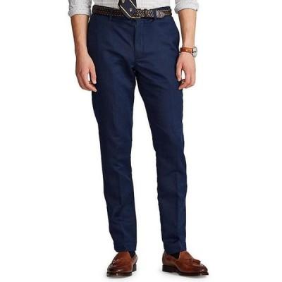 ラルフローレン メンズ カジュアルパンツ ボトムス Straight-Fit Linen Pants