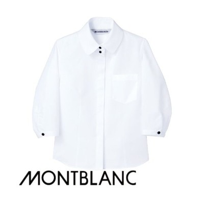 住商モンブラン シャツ  7分袖 MC7171