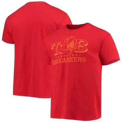 ジャンクフード Tシャツ トップス メンズ Tampa Bay Buccaneers Junk Food Local TShirt Red