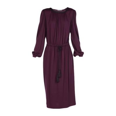 アルベルタ フェレッティ ALBERTA FERRETTI 7分丈ワンピース・ドレス ディープパープル 40 バージンウール 43% / レーヨン