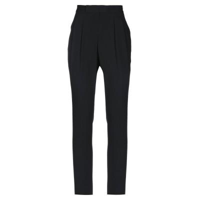 POLO RALPH LAUREN パンツ ブラック 6 アセテート 57% / レーヨン 43% パンツ