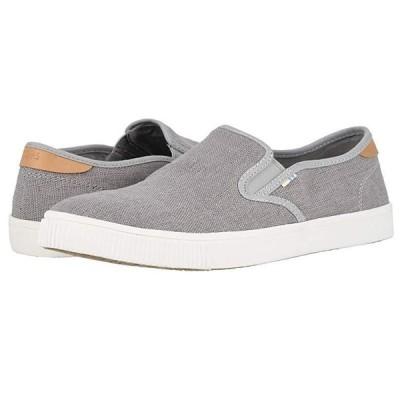 TOMS Baja メンズ スニーカー 靴 シューズ Drizzle Grey Heritage Canvas