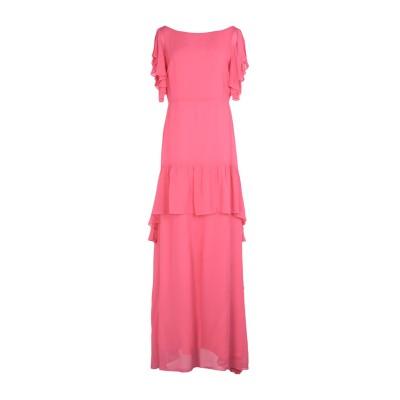 ピンコ PINKO ロングワンピース&ドレス フューシャ 40 レーヨン 100% ロングワンピース&ドレス