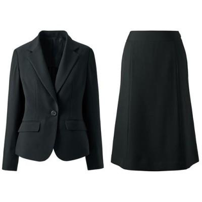 デザインが選べるスカートスーツ(タイトスカート・マーメイドスカート・洗濯機OK)/ブラックA(マーメイド)/5AP58