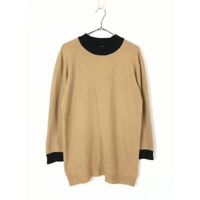レディース 古着 CK Calvin Klein 高級 100% カシミア ウール ニット セーター XL位 古着