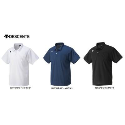 DESCENT デサント バレーボールウェア<チームウェア> ポロシャツ(ポケット付き) DTM-4601