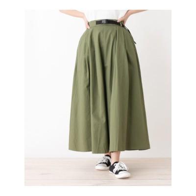 ボリュームチノスカート