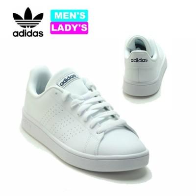 靴 adidas アディダス スニーカー メンズ レディース ホワイト ADVANCOURT BASE アドバンコートベース EE7691