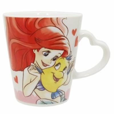 ◆リトルマーメード マグカップ ラブリーマグカップ (プレゼント、お土産,キャラクターグッツ、アニメキャラ可愛い 食器 (255)