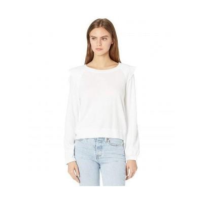 LAmade エルエーメイド レディース 女性用 ファッション Tシャツ West Coaster Thermal Long Sleeve Top - White