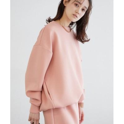 【ビス】 ダンボールニットコクーンプルオーバー レディース ピンク系 F ViS
