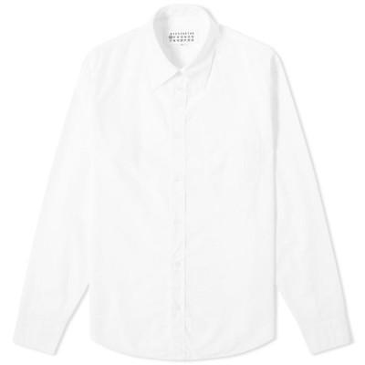 メゾン マルジェラ Maison Margiela メンズ シャツ トップス 10 ghost pocket poplin shirt White
