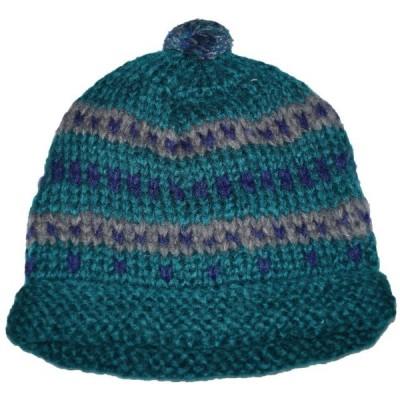 アールニューボールド R.NEWBOLD ニット帽  メンズ 449 緑 冬物 グリーン 帽子