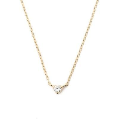 ネックレス Demi-Luxe BEAMS / K10 ダイヤネックレス