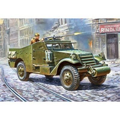 ズベズダ 1/35 M3スカウトカー偵察車 【ZV3519】 プラモデル GSI ズベズダ3519 【返品種別B】