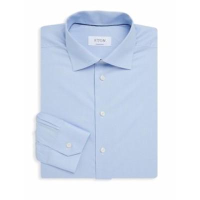 イートン Men Clothing Contemporary-Fit Cotton Dress Shirt
