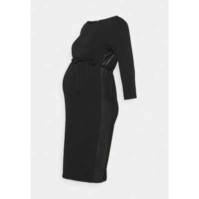 ママリシャス ワンピース レディース トップス MLTINE BLACKIE  - Jersey dress - black