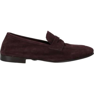 アンドレア ヴェントゥーラ ANDREA VENTURA FIRENZE メンズ ローファー シューズ・靴 loafers Deep purple