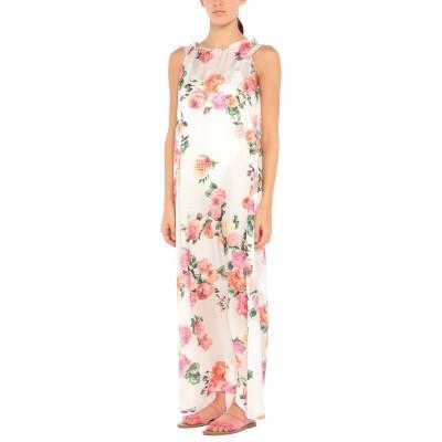 ブルマリン BLUMARINE ビーチドレス ホワイト S/M ポリエステル 100% ビーチドレス