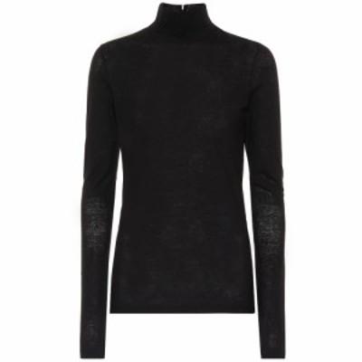 ジル サンダー Jil Sander レディース ニット・セーター トップス Cotton turtleneck sweater Black