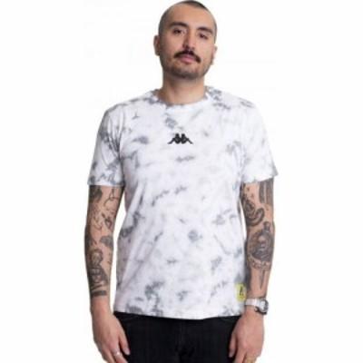 カッパ Kappa メンズ Tシャツ トップス - Ives Bright White - T-Shirt white