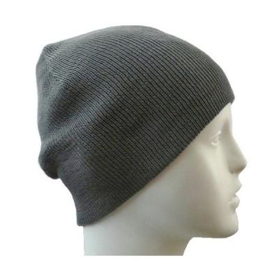 【抗がん剤治療】【医療用帽子】【ケア帽子】 大杉ニットルームキャップ:3型 グレー