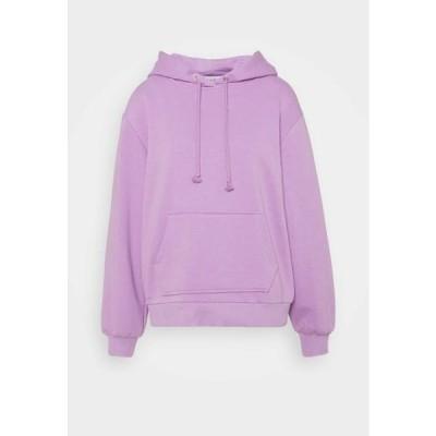 エヌエーケイディー レディース ファッション BASIC HOODIE - Hoodie - lilac