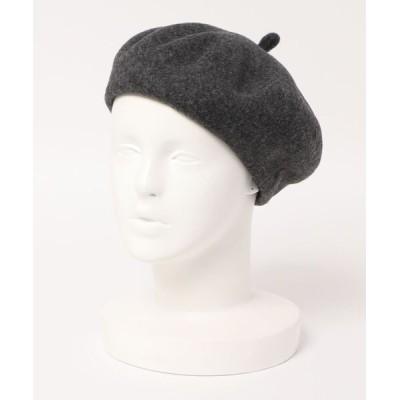 帽子 キャップ コクーンウールベレー