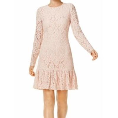 Calvin Klein カルバンクライン ファッション ドレス Calvin Klein NEW Pink Womens Size 10P Petite Lace Sheath Dress