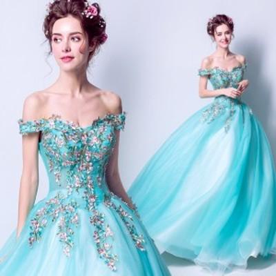 韓国ファッション ウエディングドレス二次会 司会者 舞台演出服 パーティードレス 披露宴 結婚式 花嫁ドレス ステージドレス カラードレ