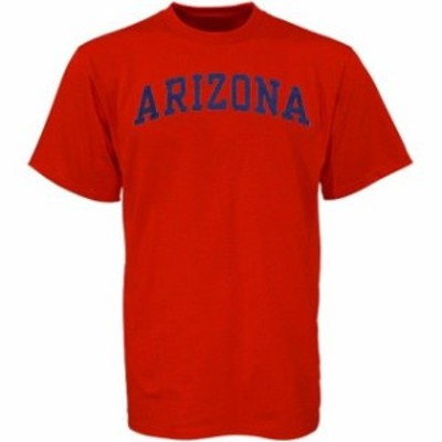 New Agenda ニュー アジェンダ スポーツ用品  Arizona Wildcats Cardinal Arch T-Shirt